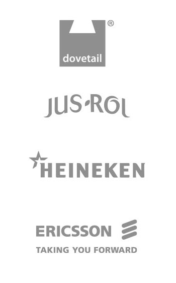 Dovetail Subscription Management Services, Jus-Rol, Heineken, Ericsson