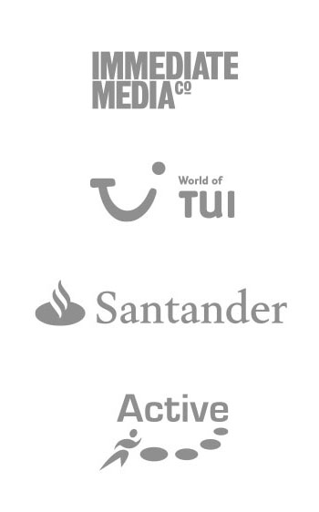Immediate Media, TUI, Santander, Active Centres