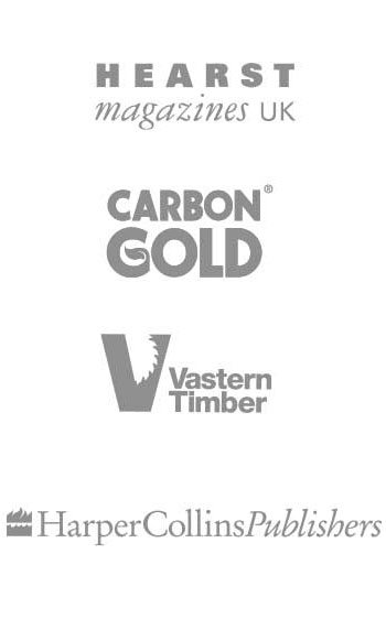Hearst Magazines, Carbon Gold, Vastern Timber, Harper Collins Publishers