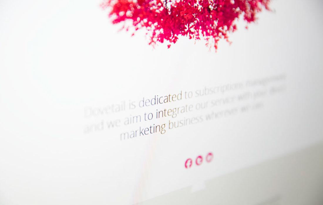 Dovetail Subscription Management Services Website
