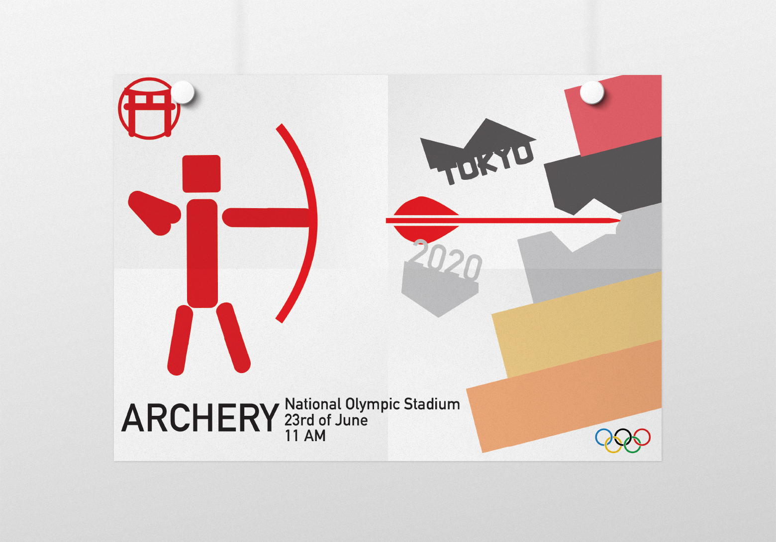 Archery poster small 3