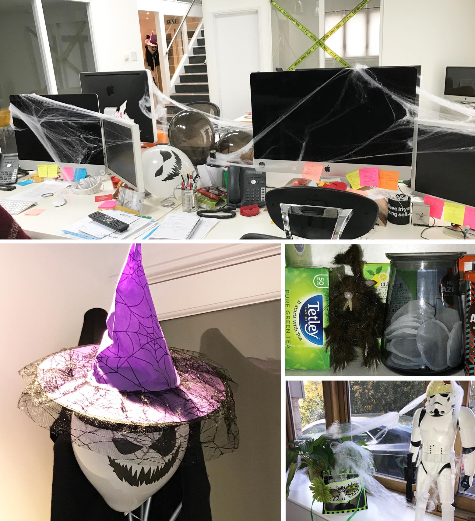 Halloween at Bopgun 2016 Office