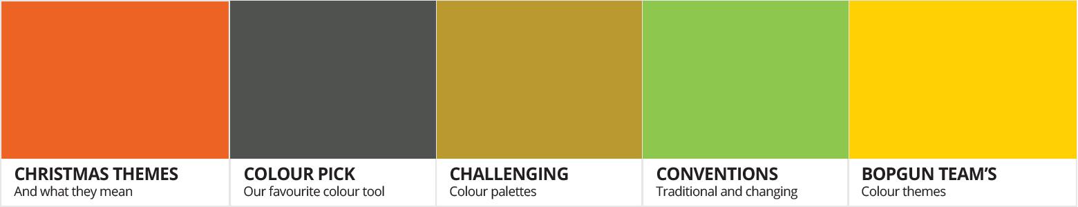 Challenging colour palettes