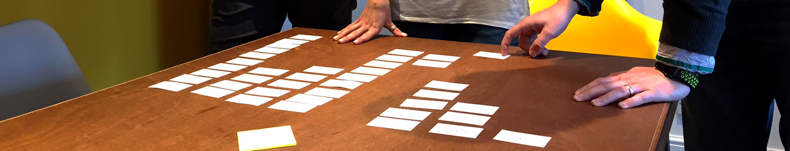 Card Sorting for Websites