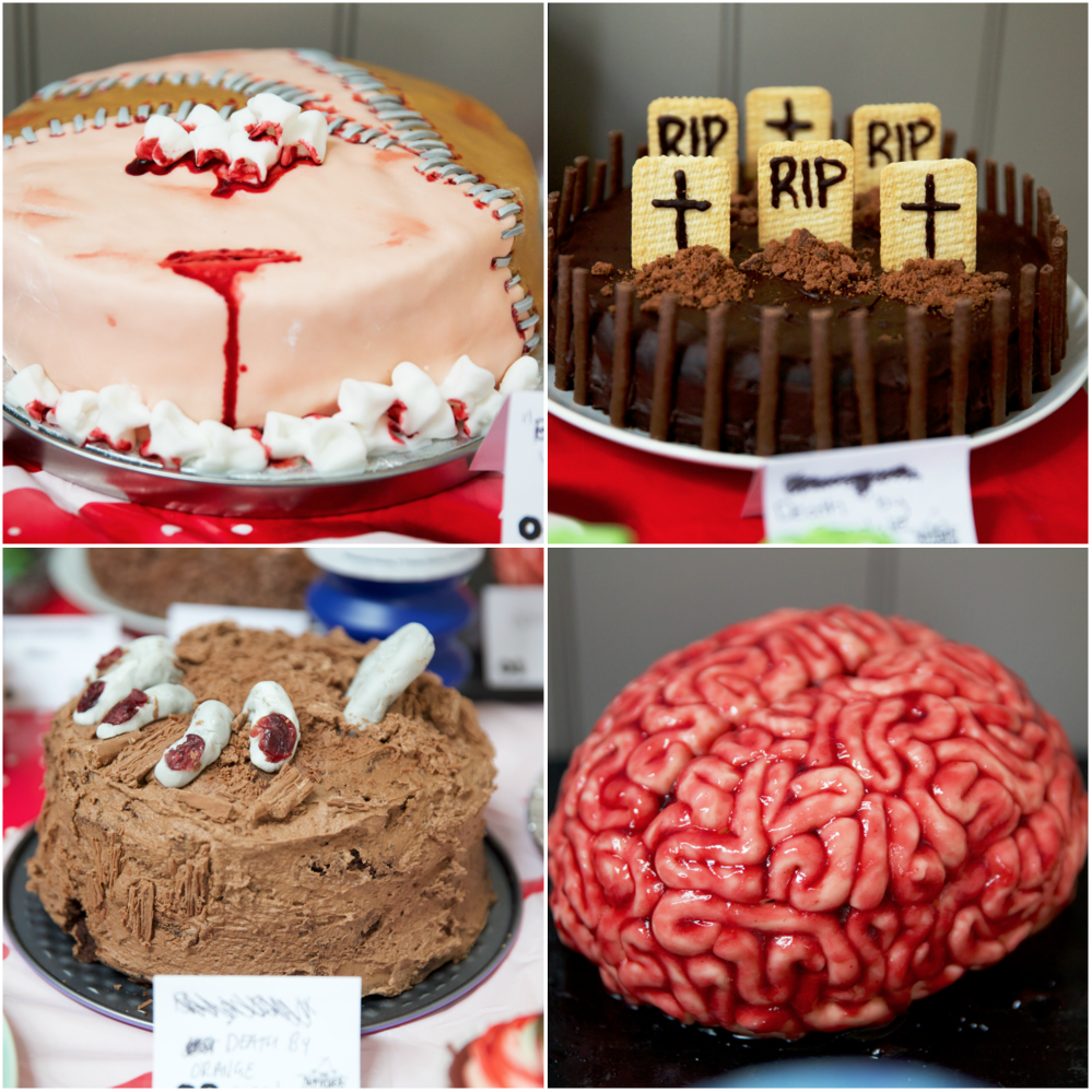 Top Left: Our winning cake by Sam Atchison
