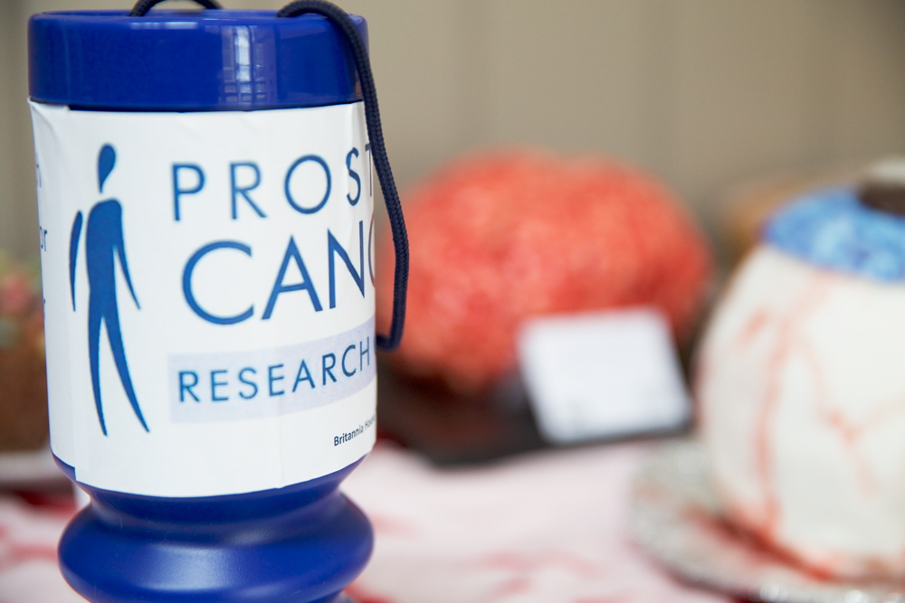 Raising money for Prostate Cancer Research