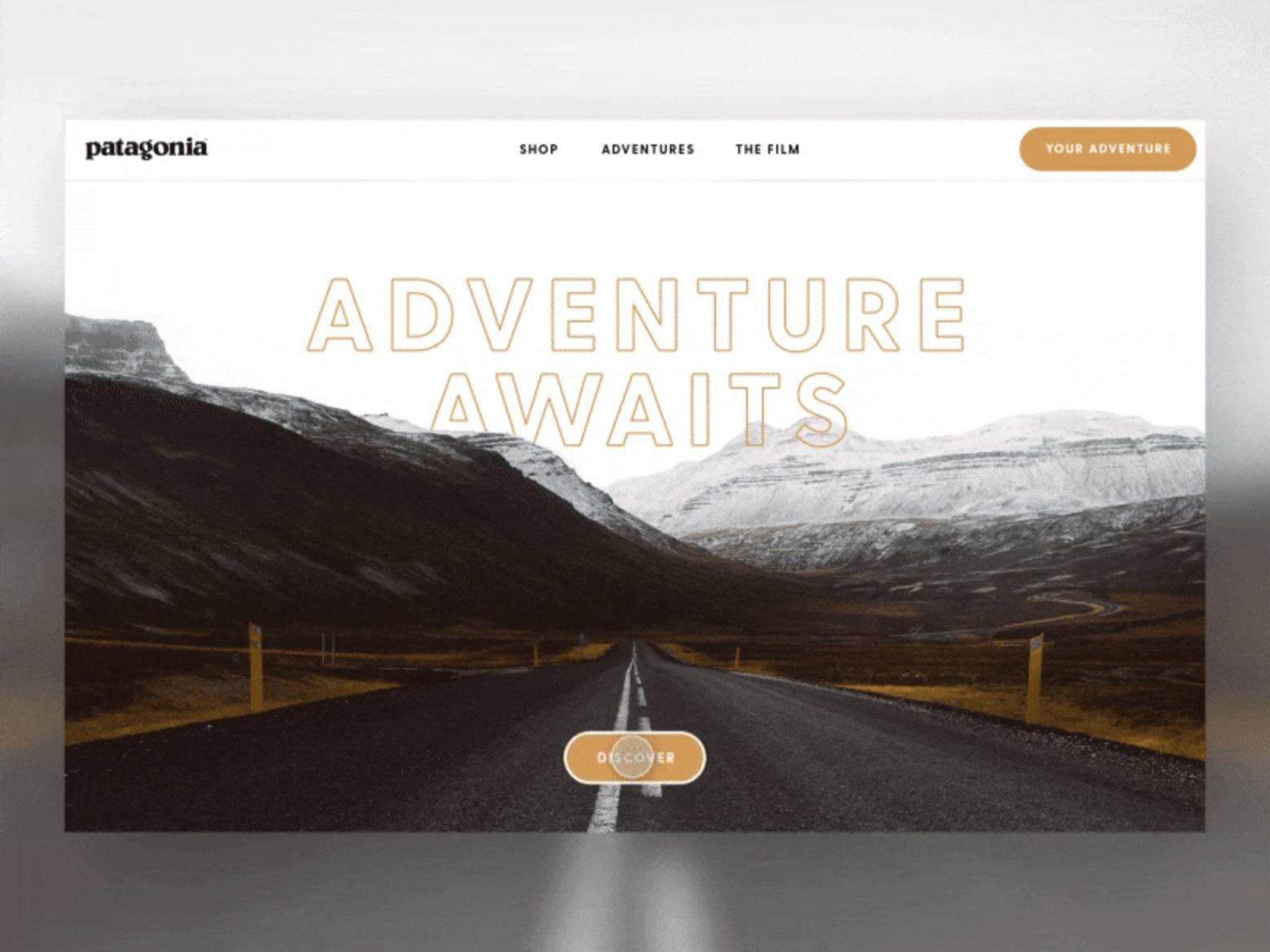 Nathan Riley website design