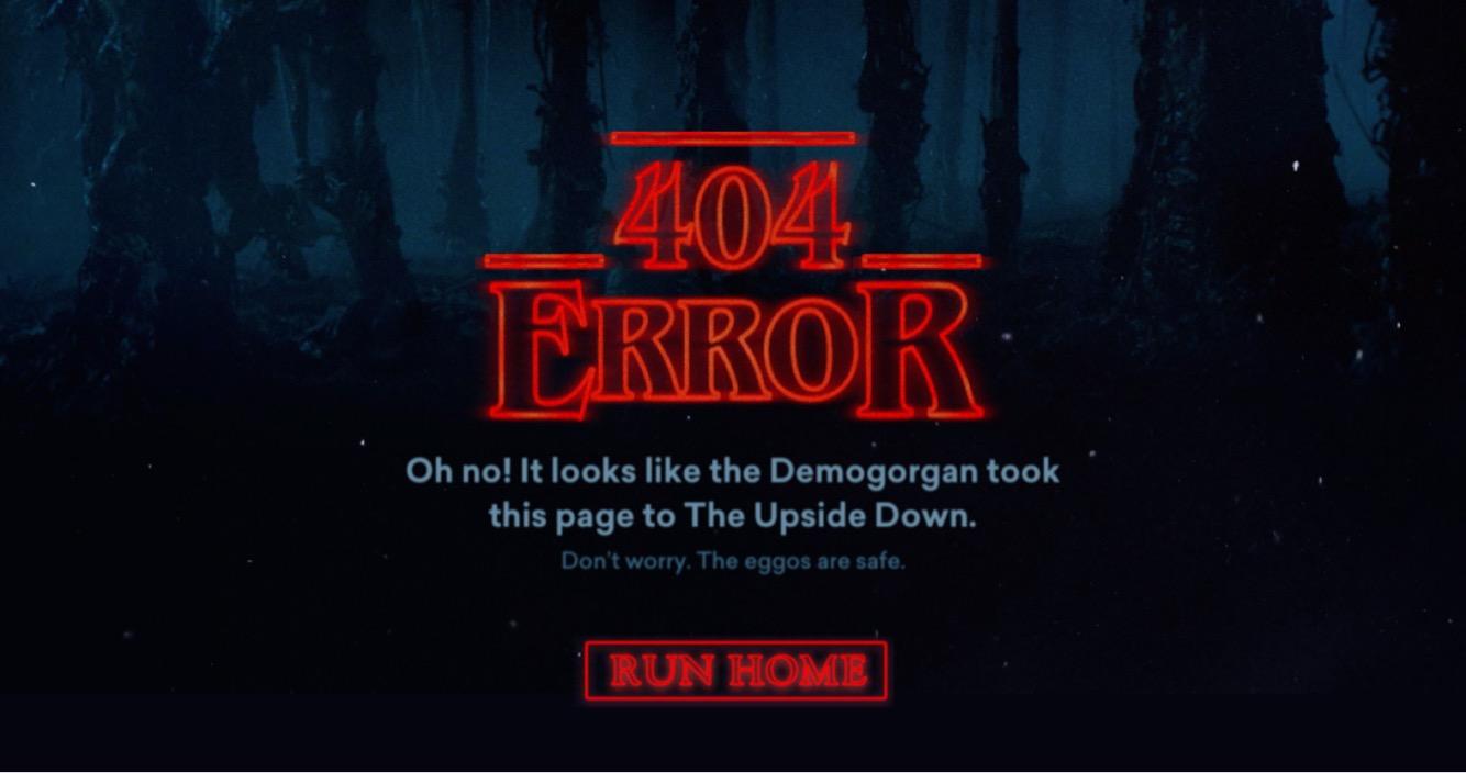 Stranger Things 404