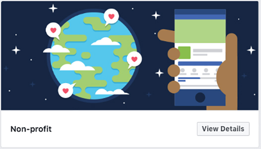 Non-Profit Facebook template