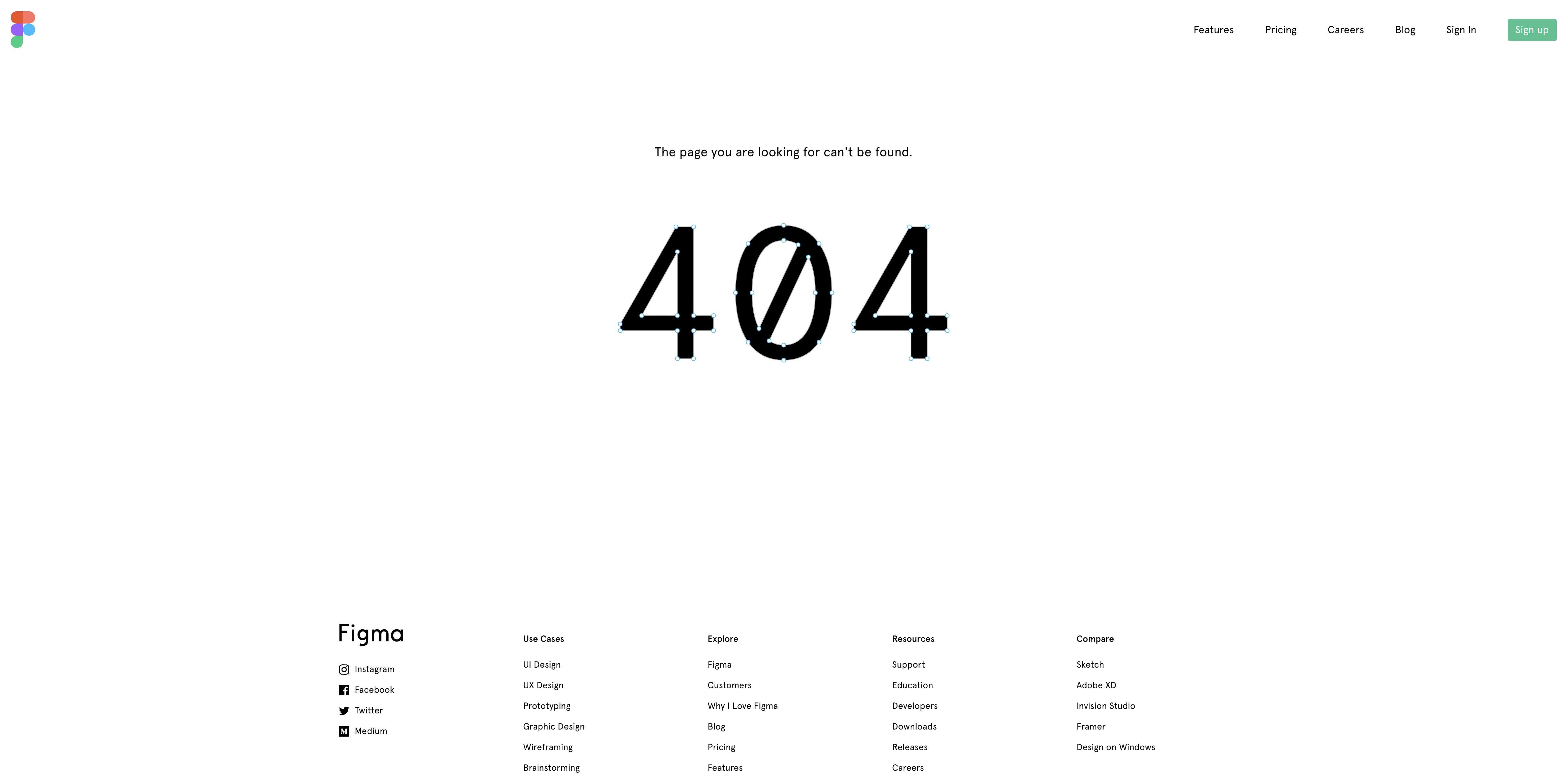 Figma 404