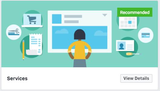 Services Facebook template