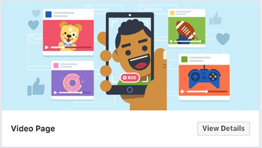 Video Facebook template