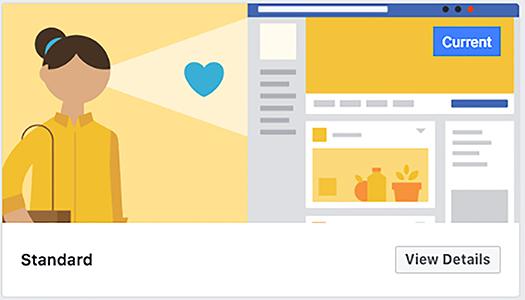 Standard Facebook template