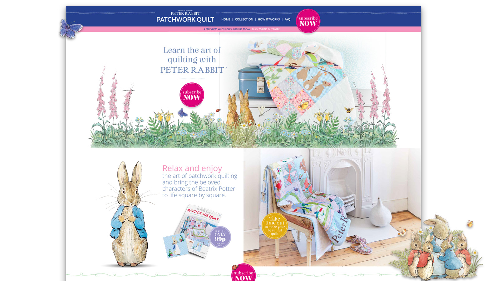 Peter Rabbit Website